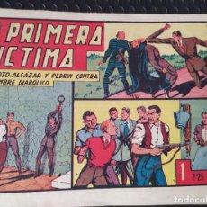 Tebeos: R. ALCAZAR Y PEDRÍN ORIGINAL Nº 99 -PRIMERA VÍCTIMA SVINTUS-1,25 PTS.-ED VALENCIANA-BUEN ESTADO. Lote 289431933