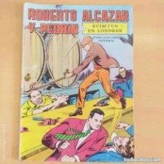 Tebeos: ROBERTO ALCAZAR Y PEDRIN - SVIMTUS EN LONDRES. VALENCIANA. NUM 7. Lote 289495818
