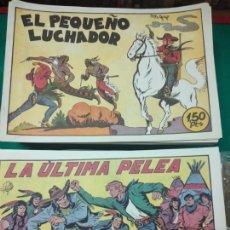 Tebeos: EL PEQUEÑO LUCHADOR. COMPLETA 230 NUMEROS REEDICION. EDITORIAL VALENCIANA.. Lote 289573763
