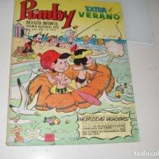 Tebeos: PUMBY 973.EXTRA VERANO 1976.EDITORIAL VALENCIANA,AÑO 1955.. Lote 289657533