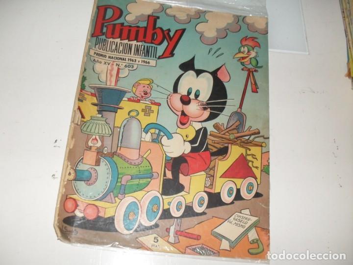 PUMBY 603.EDITORIAL VALENCIANA,AÑO 1955. (Tebeos y Comics - Valenciana - Pumby)