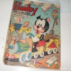 Tebeos: PUMBY 603.EDITORIAL VALENCIANA,AÑO 1955.. Lote 289658098