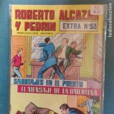 Tebeos: ROBERTO ALCÁZAR Y PEDRÍN COLOR EXTRA 53. Lote 289677568
