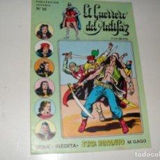 Livros de Banda Desenhada: EL GUERO DEL ANTIFAZ 15.SERIE INEDITA.EDITORIAL VALENCIANA,AÑO 1983.. Lote 289739953