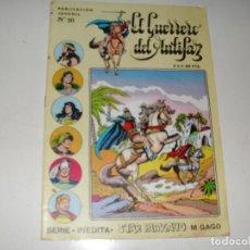 Livros de Banda Desenhada: EL GUERO DEL ANTIFAZ 10.SERIE INEDITA.EDITORIAL VALENCIANA,AÑO 1983.. Lote 289740068