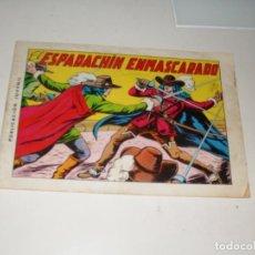 Tebeos: EL ESPADACHIN ENMASCARADO 1,EL PRIMERO. (DE 84).REEDICION APAISADA.EDITORIAL VALENCIANA,AÑO 1981.. Lote 289785063