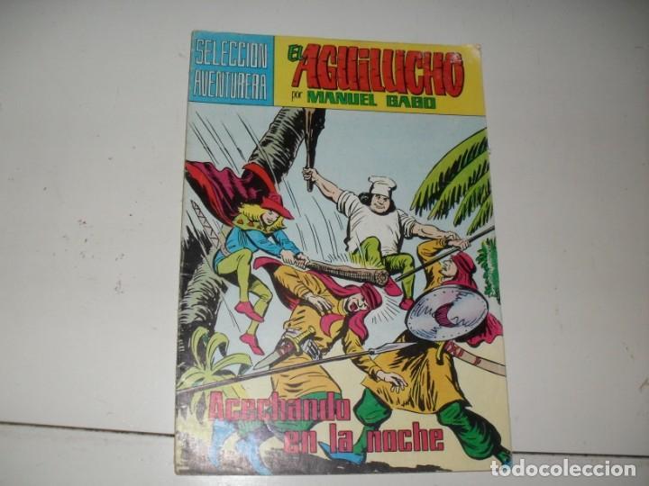 EL AGUILUCHO 29.REEDICION COLOR.EDITORIAL VALENCIANA,AÑO 1980. (Tebeos y Comics - Valenciana - Otros)
