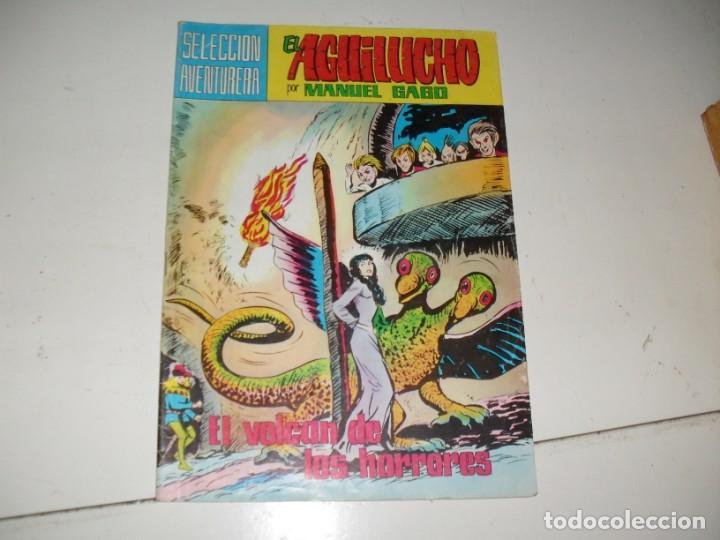 EL AGUILUCHO 11.REEDICION COLOR.EDITORIAL VALENCIANA,AÑO 1980. (Tebeos y Comics - Valenciana - Otros)