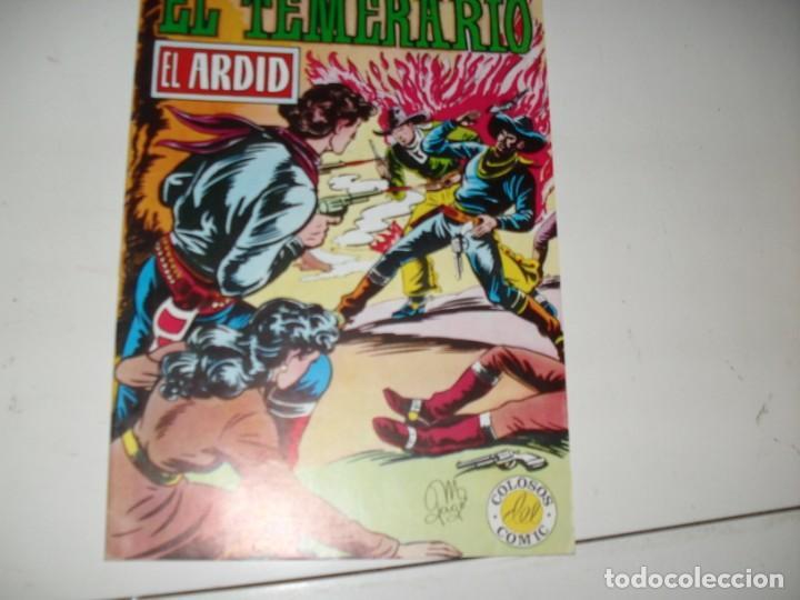 EL TEMERARIO 6.REEDICION.EDITORIAL VALENCIANA,AÑO 1980. (Tebeos y Comics - Valenciana - Otros)