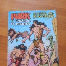 Tebeos: PURK EL HOMBRE DE PIEDRA - EXTRA DE NAVIDAD - LEER DESCRIPCION (S). Lote 289823713