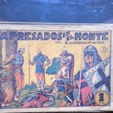 Tebeos: APRESADOS EN EL MONTE - CON EL GUERRERO DEL ANTIFAZ N°46. Lote 289871733