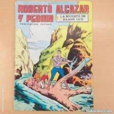 Tebeos: ROBERTO ALCAZAR Y PEDRIN - LA MUERTE DE DANDY LUB. VALENCIANA NUM 40. Lote 289904648