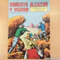 Tebeos: ROBERTO ALCAZAR Y PEDRIN - LA REINA DEL SILENCIO. VALENCIANA NUM 56. Lote 289904703
