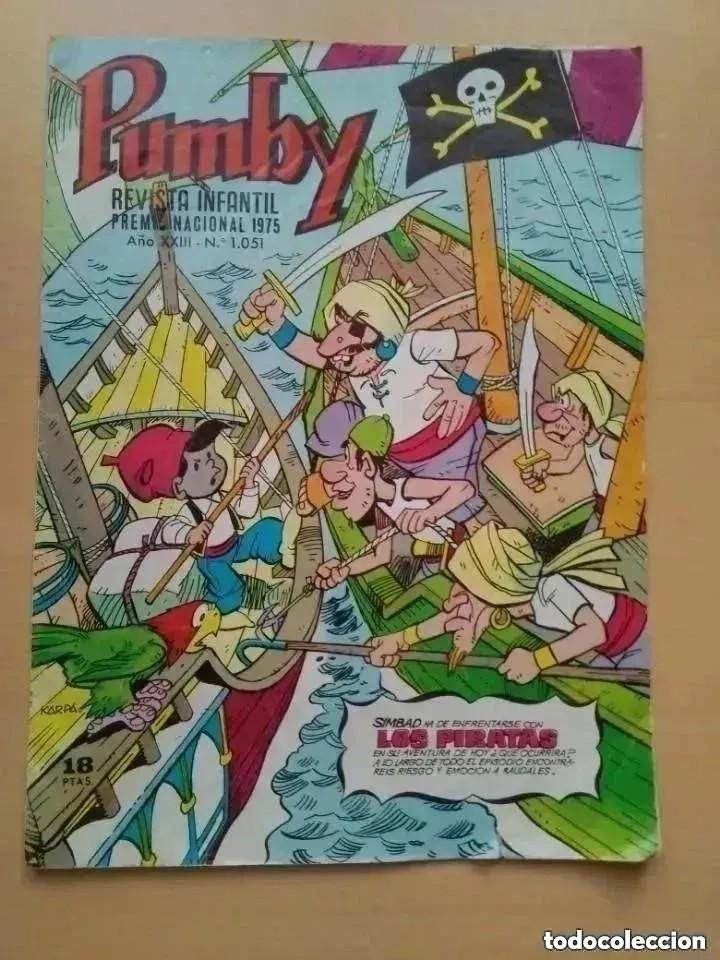PUMBY NUM 1051. (Tebeos y Comics - Valenciana - Pumby)