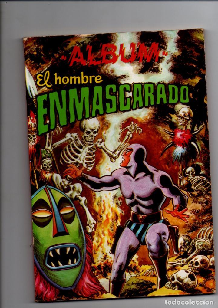ALBUM EL HOMBRE ENMASCARADO. TOMO Nº 5. EDITORIAL VALENCIANA, ABRIL 1981 (Tebeos y Comics - Valenciana - Otros)