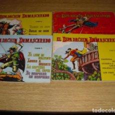 Tebeos: 4 TOMOS - EL ESPADACHIN ENMASCARADO . NºS 2-3-5-Y 6 -. Lote 292048463