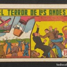 Tebeos: ROBERTO ALCAZAR Y PEDRIN EL TERROR DE LOS ANDES 75 CENTIMOS. ORIGINAL .. Lote 292095973