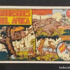 Tebeos: ROBERTO ALCAZAR Y PEDRIN ROBINSONES DEL AFRICA 75 CTS ORIGINAL .. Lote 292096378