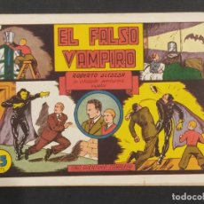 Tebeos: ROBERTO ALCAZAR Y PEDRIN ,EL FALSO VAMPIRO, 75 CENTS ORIGINAL .. Lote 292098278