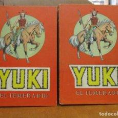 Tebeos: YUKI EL TEMERARIO - 2 TOMOS - COLECCION COMPLETA - VALENCIANA. Lote 292134848