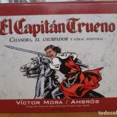 Tebeos: EL CAPITAN TRUENO - CHANDRA EL USURPADOR - TOMO APAISADO - 37 X 28 CM - AMBROS / VICTOR MORA. Lote 292152123