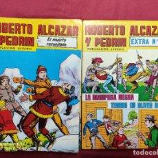 Tebeos: ROBERTO ALCAZAR Y PEDRIN Y ROBERTO ALCAZAR Y PEDRIN EXTRA. LOTE. 30 EJEMPLARES. 2ª EPOCA. VALENCIANA. Lote 292403898