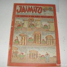 Tebeos: JAIMITO 322.EDITORIAL VALENCIANA,AÑO 1944.. Lote 292603813