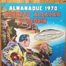 Tebeos: LOTE ROBERTO ÁLCAZAR Y PEDRÍN. ALMANAQUES Y NÚMEROS EXTRAS. Lote 293212473