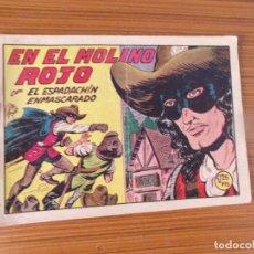 Tebeos: EL ESPADACHIN ENMASCARADO Nº 185 EDTA VALENCIANA. Lote 293643043