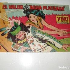 Giornalini: YUKI EL TEMERARIO 89.EDITORIAL VALENCIANA,AÑO 1958... Lote 293799423