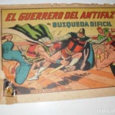 Giornalini: EL GUERRERO DEL ANTIFAZ,ORIGINAL APAISADO Nº 665.CON DETERIORO PERO NUMERO MUY DIFICIL.VALENCIANA.. Lote 293811728