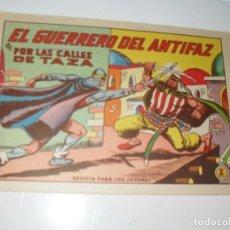 Livros de Banda Desenhada: EL GUERRERO DEL ANTIFAZ,ORIGINAL APAISADO Nº 601.EDITORIAL VALENCIANA,AÑO 1944.. Lote 293812003