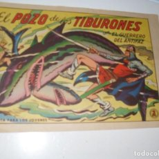 Livros de Banda Desenhada: EL GUERRERO DEL ANTIFAZ,ORIGINAL APAISADO Nº 573.EDITORIAL VALENCIANA,AÑO 1944.. Lote 293812258