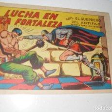 Livros de Banda Desenhada: EL GUERRERO DEL ANTIFAZ,ORIGINAL APAISADO Nº 572.EDITORIAL VALENCIANA,AÑO 1944.. Lote 293815843
