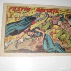 Tebeos: EL GUERRERO DEL ANTIFAZ,ORIGINAL APAISADO Nº 243.EDITORIAL VALENCIANA,AÑO 1944.. Lote 293823668