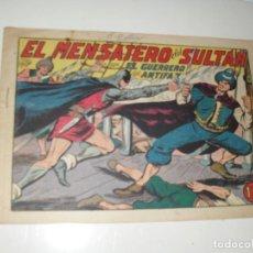 Tebeos: EL GUERRERO DEL ANTIFAZ,ORIGINAL APAISADO Nº 240.EDITORIAL VALENCIANA,AÑO 1944.. Lote 293858643