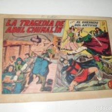 Tebeos: EL GUERRERO DEL ANTIFAZ,ORIGINAL APAISADO Nº 239.EDITORIAL VALENCIANA,AÑO 1944.. Lote 293858668