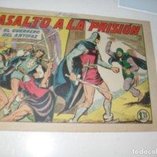 Tebeos: EL GUERRERO DEL ANTIFAZ,ORIGINAL APAISADO Nº 236.EDITORIAL VALENCIANA,AÑO 1944.. Lote 293858673
