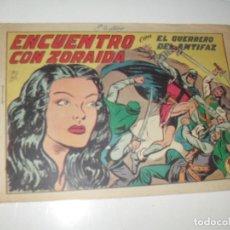 Tebeos: EL GUERRERO DEL ANTIFAZ,ORIGINAL APAISADO Nº 233.EDITORIAL VALENCIANA,AÑO 1944.. Lote 293858703