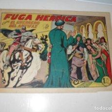 Tebeos: EL GUERRERO DEL ANTIFAZ,ORIGINAL APAISADO Nº 219.EDITORIAL VALENCIANA,AÑO 1944.. Lote 293858773