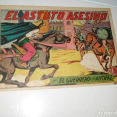 Tebeos: EL GUERRERO DEL ANTIFAZ,ORIGINAL APAISADO Nº 204.EDITORIAL VALENCIANA,AÑO 1944.. Lote 293858818