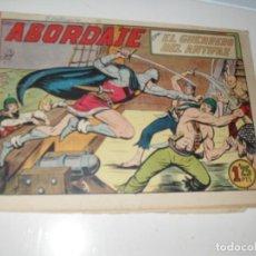 Tebeos: EL GUERRERO DEL ANTIFAZ,ORIGINAL APAISADO Nº 185.EDITORIAL VALENCIANA,AÑO 1944.. Lote 293858898