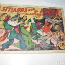 Tebeos: EL GUERRERO DEL ANTIFAZ,ORIGINAL APAISADO Nº 185.EDITORIAL VALENCIANA,AÑO 1944.. Lote 293858953