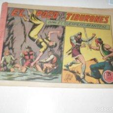 Tebeos: EL GUERRERO DEL ANTIFAZ,ORIGINAL APAISADO Nº 117.EDITORIAL VALENCIANA,AÑO 1944.. Lote 293859028