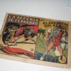 Tebeos: EL GUERRERO DEL ANTIFAZ,ORIGINAL APAISADO Nº 142.EDITORIAL VALENCIANA,AÑO 1944.. Lote 293859148
