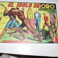Tebeos: ROBERTO ALCAZAR 228 APAISADA FACSIMIL,EDITORIAL VALENCIANA,AÑO 1940.IMPECABLE.. Lote 293990963