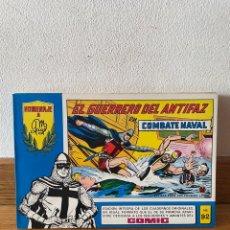 Tebeos: EL GUERRERO DEL ANTIFAZ EN COMBATE NAVAL NÚMERO 92. Lote 294053088