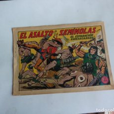Tebeos: ESPADACHIN ENMASCARADO Nº 97 GAGO 1957 ORIGINAL. Lote 294442538