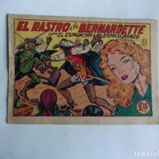 Tebeos: ESPADACHIN ENMASCARADO Nº 104 GAGO 1957 ORIGINAL. Lote 294443223