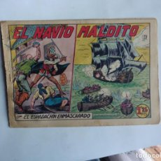Tebeos: ESPADACHIN ENMASCARADO Nº 105 GAGO 1957 ORIGINAL. Lote 294443428